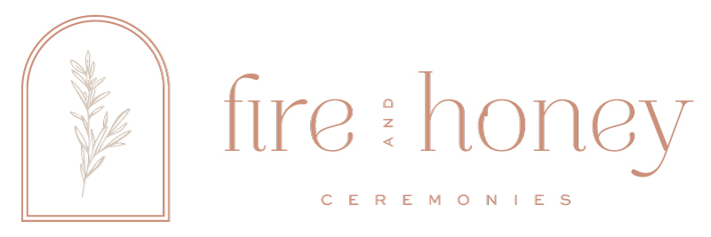 Fire and Honey Ceremonies Logo