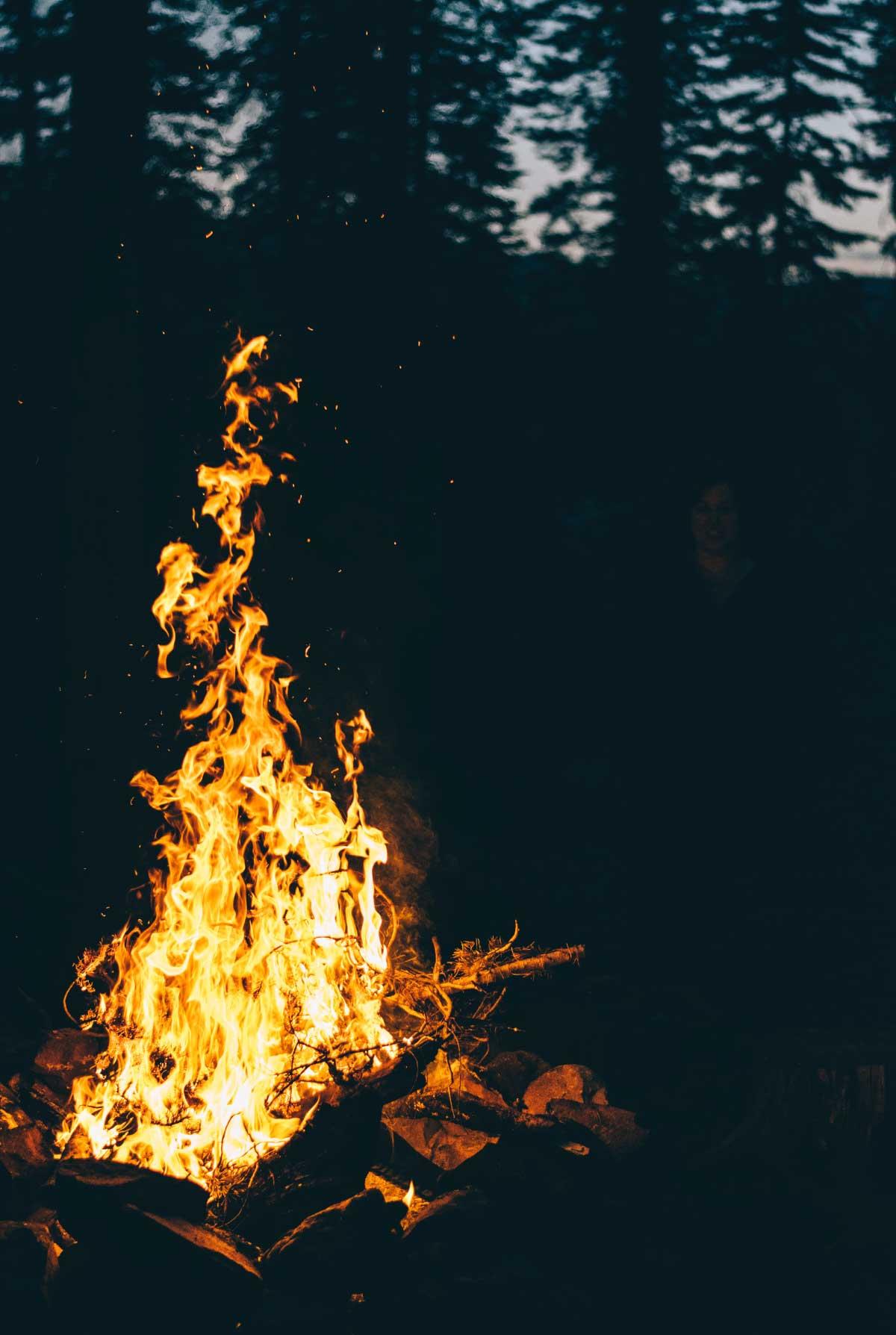 Campfire Vancouver Island Celebrant